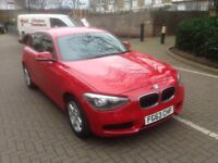 2013 (63) PLATE BMW 1 SERIES DIESEL WITH 5 DOORS AND LOW MILEAGE
