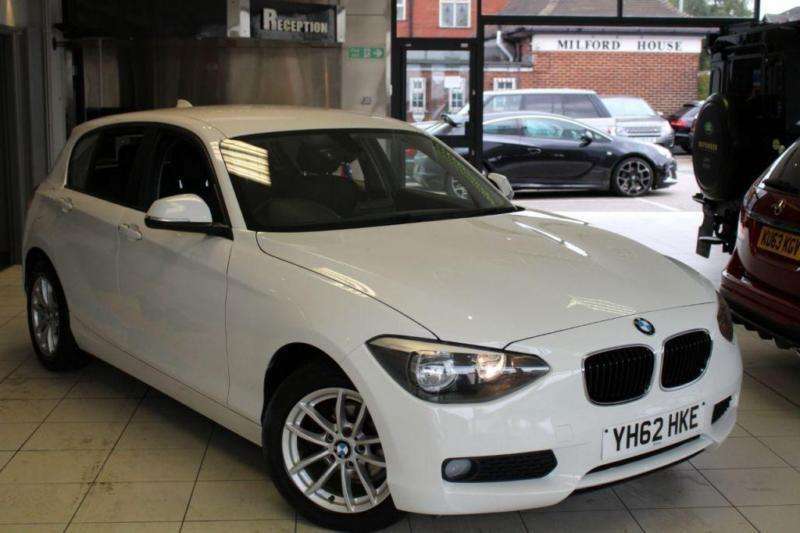 2012 62 BMW 1 SERIES 2.0 116D SE 5D 114 BHP DIESEL