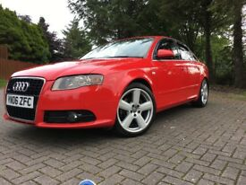 Audi A4 2.0 TDI S Line Quattro 170bhp 4dr (1 years MOT and good service history)