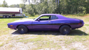 For sale 1973 charger fresh 383 727 Trans 4:10 gears nice cleanc