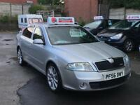 Skoda Octavia VRS 2007/56 5dr Diesel Manual Silver FSH Cambelt Changed Good Spec