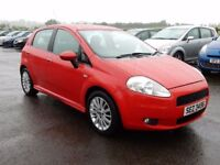 2008 Fiat punto 1.4 petrol dynamic sport with only 48000 miles, motd march 2018