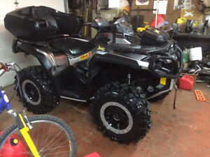 2012 Can Am Outlander XT 1000 For Sale !