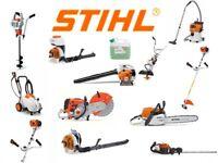 STIHL saw, STIHL strimmer, STIHL hedge trimmers