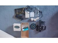 Wireless Charger, Power Adaptor, Bluetooth Headphones