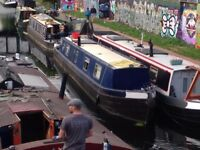 Beautiful 56' Cruiser Stern Live Aboard Narrowboat 'Shanti' For Sale