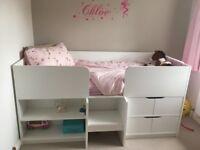 Children's Next white Compton Cabin Bed