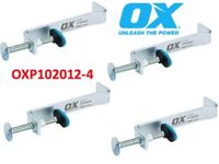 4 X OX TOOLS PRO 300MM INTERNAL BUILDING PROFILE CLAMP P102012