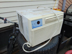 One 5600 btu air conditioner for sell works good $60 one12000 BT