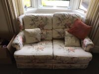 2 Sofas and an Arm Chair (Matching Floral)