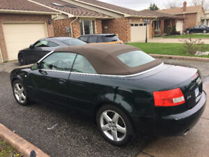 2003 Audi Cabriolet 1.8T Coupe (2 door)