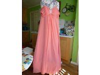Coral Prom/Bridesmaid Dress