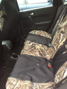 Camo seat covers and mats