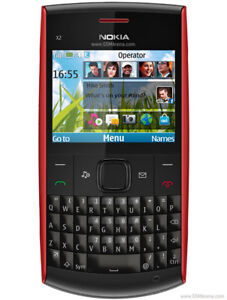 NOKIA X2 SERIES RED ROUGE NEW
