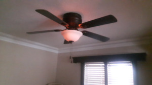 Harbor Breeze Ceiling Fan. Hardly Used. Moving!
