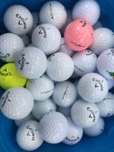 Callaways 125 balls for sale in excellent condition