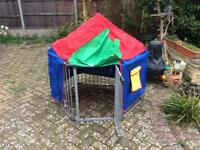 Babyden Playpen silver, with tent