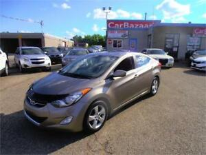 2012 HYUNDAI ELANTRA LTD NAVI CAMERA SUNROOF EASY CAR FINANCING