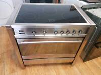 Smeg Electric Range Cooker 90cm width.Free Local Delivery