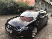 Audi A3 TDI Quattro S Line , 2.0 Diesel looks and drives absolute superb. (BARGAIN PRICE)