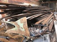 VARIOUS SIZES JOISTS AND FLOORBOARDS FOR SALE - DEMOLITION JOB IN BARKING LONDON
