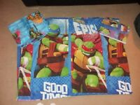 Teenage mutant ninja turtles duvet cover set and curtains
