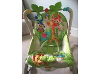 Fisher Price Rainforest Friends Infant to toddler rocker