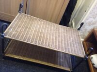 Nice Wicker Coffee Table Good Condition Can Deliver