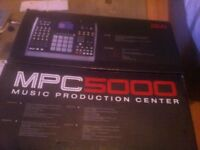 Akai MPC 5000 Great Condition *PRICE NEGOTIABLE*