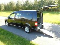 2010 60 Volkswagen Caddy Maxi Life 1.9 Tdi Automatic WHEELCHAIR ACCESSIBLE WAV