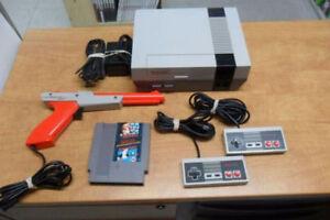 Ensemble Complet Nintendo NES Original Nettoyé, Testé, Garantie