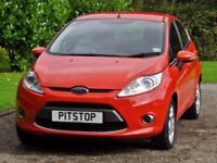 Ford Fiesta 1.2 Zetec 5dr PETROL MANUAL 2012/12