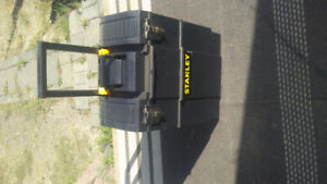 BRAND NEW Stanley Mobile Tool Box on wheels