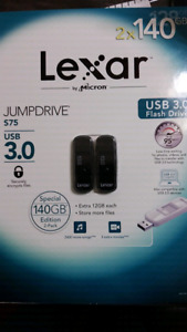 Double pack 140gb each USB 3.0