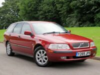 VOLVO V40 1.8 ESTATE - £995 | LEATHER ~ RARE CAR ~ SERVICE HISTORY, LONG MOT