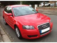 Audi A3 1.6 SE Petrol 5 Door Manual Finished in Brilliant Red Great Condition Full Service History