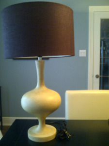 2 very funky tall lamps