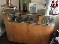 Retro bar, needs some work was my gran so very old open to offers