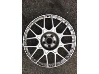 """Genuine Audi TT 18"""" Face Plate Only BBS Split Rim Alloy Wheel 5x100 33 ET"""