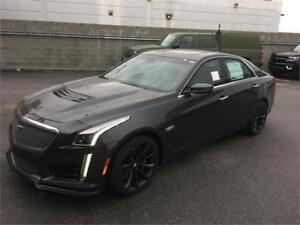NEW 2017 Cadillac CTS-V Sedan grey Automatic NEW