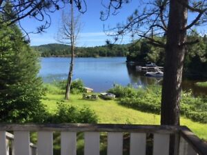 Location Chalet Lac Navigable St-Adolphe d'Howard