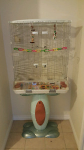 Large Vision Bird Cage L12 with stand
