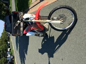 2008 Crf450x plated