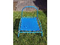Kids Indoor or Outdoor Blue Trampoline - Collection Only Stockport