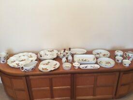 Table ware Fine Porcelain Royal Worcester