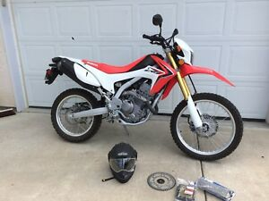 Crf250l dual sport only 844km