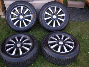 16 Inch Winter Tires on Alloy Rims
