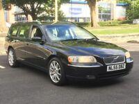 2006 VOLVO V70 2.4 SE AUTO * BLACK * LEATHER * FULL HISTORY * LONG MOT * PX * DELIVERY * FINANCE *