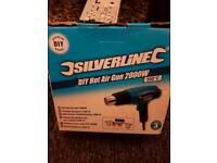 Silverline 1500W hot air gun