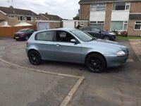 04 Alfa Romeo 147 1.9 diesel low miles service history 5 doors £450